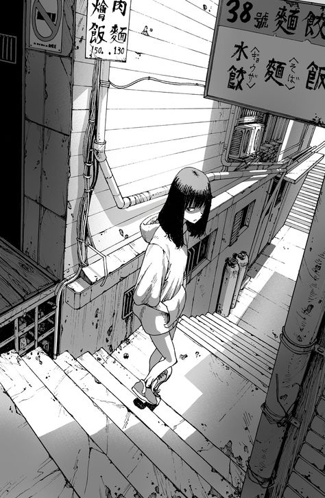 drawings of love Perspective Drawing Lessons, Perspective Art, Aesthetic Art, Aesthetic Anime, Character Art, Character Design, Manga Drawing Tutorials, Background Drawing, Bd Comics