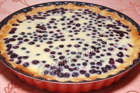 Пирог с черникой рецепт пошагово замороженной 3