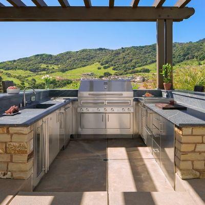 Orinda California Outdoor Kitchen Kalamazoo Outdoor Gourmet Outdoor Kitchen Luxury Outdoor Kitchen Kitchen Appliances Luxury