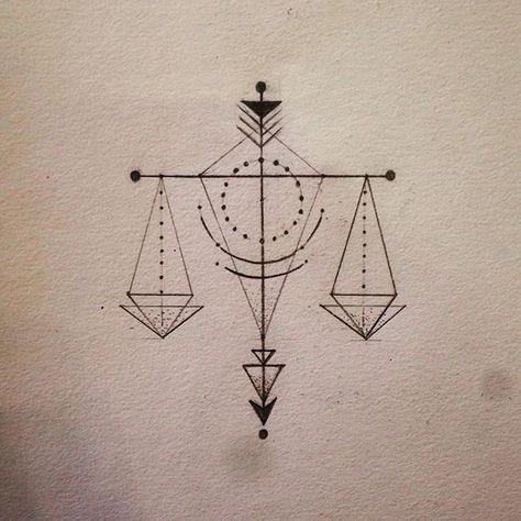 libra tattoo perhaps?