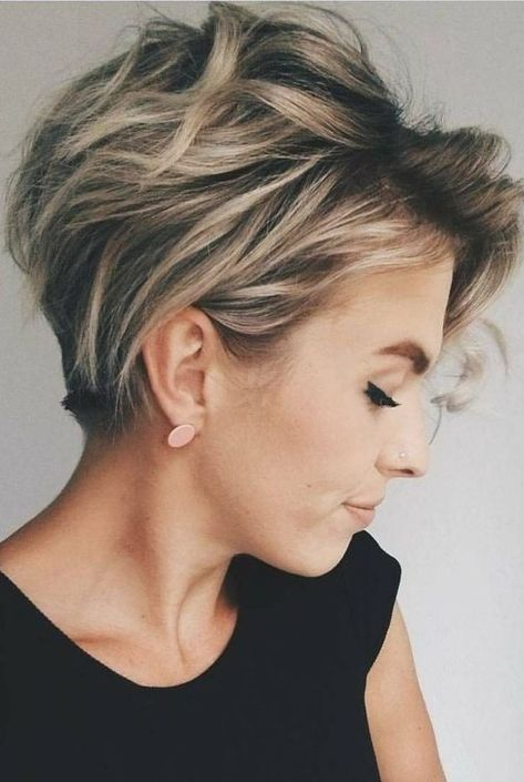 Newest Short Haircuts 2019 Ideas For Women10