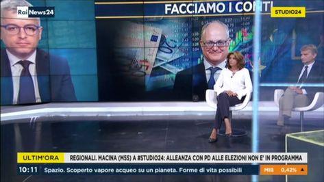 Anna Macina ospite a Rai News 24 il 12-09-2019