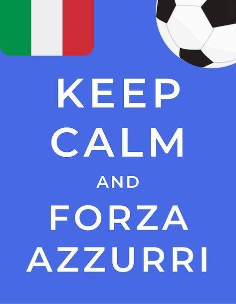 Forza Azzurri! (Let's go Italy!)