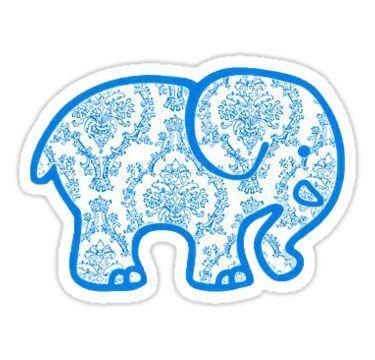 49e0607fd Ivory Ella Sticker — Blue Victorian  Sticker by FrenchGirl0325 in ...