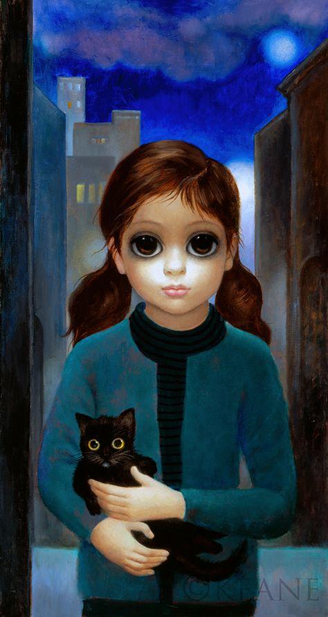 Картина большие глаза маргарет кин