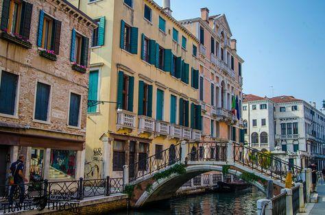 A bridge in Venice, Italy