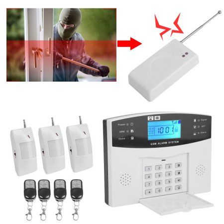 Security Systems GSM Alarm System