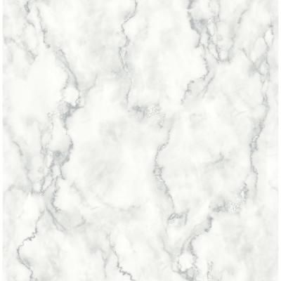 Nextwall Marble Texture Vinyl Peelable Wallpaper Covers 30 75 Sq Ft Nw30400 The Home Depot Peelable Wallpaper Peel And Stick Wallpaper Marble Texture
