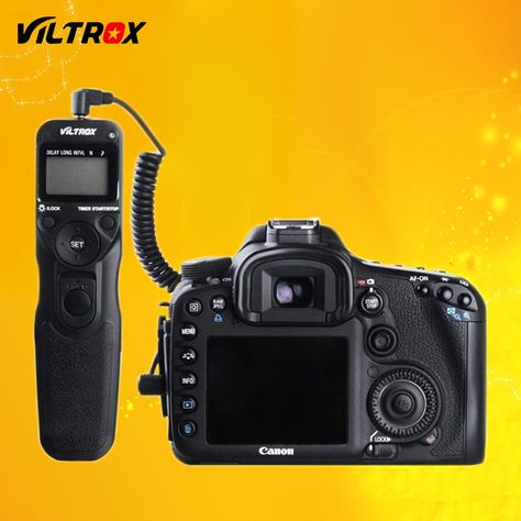 Vivitar Universal Wireless And Wired Shutter Release Remote Control Fits Canon Nikon Sony Olympus Dslr Cameras Dslr Camera Camera Gear Best Camera For Photography