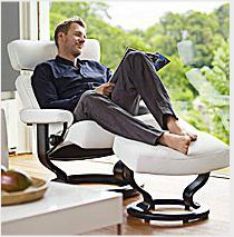 Stressless Orion Recliner By Ekornes. Come Check It Out At The Store! # Stressless