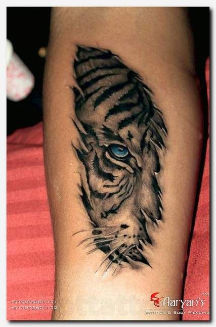 Tattoo For Women Leg Tiger 70 Ideas Animal Tattoos Cool Tattoos Neck Tattoo