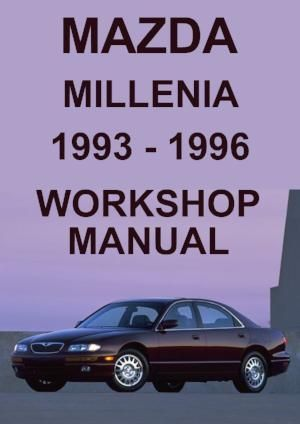 Mazda Millenia 1993 1996 Workshop Manual Mazda Workshop Manual Car