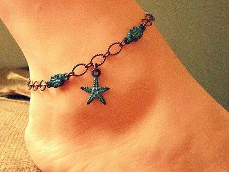Starfish Ankle Bracelet