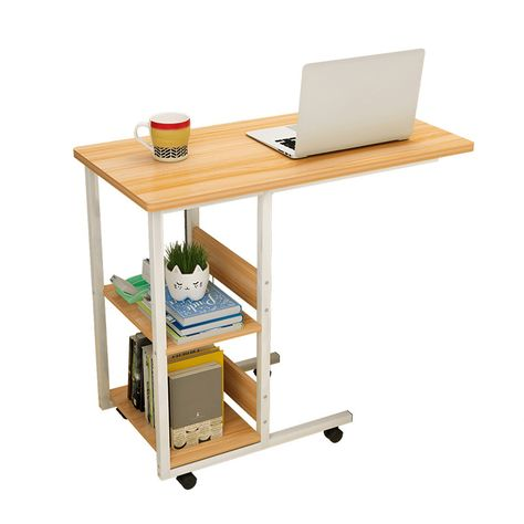 Wsnbb Computer Desk Lazy Table Bay Window Table Bedside Table Study Table Simple Desk It Can Move Lif Adjustable Side Table Adjustable Coffee Table Simple Desk