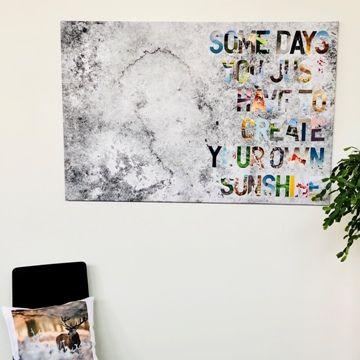 gestalte deine eigene text leinwand geschenkideen fotogeschenke blog von smartphoto fotoleinwand foto kissen bilder bestellen panorama 120x40