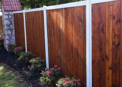 Fencetrac Privacy Fence Builder Arrow Fence Company Tulsa Oklahoma Fence Builders Fence Construction Fence