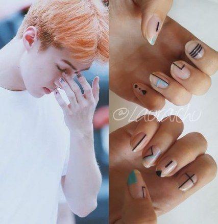 Nails Art Korean Kpop 21 Ideas For 2019 Asian Nails Korean Nail Art Korea Nail Art