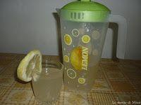 ricetta per la limonata fatta in casa. Sciroppo da diluire con acqua