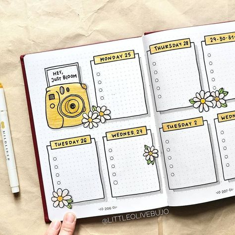 "Viola | Bullet Journal on Instagram: ""-Hey, just bloom🌼✨ IN A WEEK I AM G... - #bloom #Bullet #Hey #Instagram #Journal #Viola #WEEK"