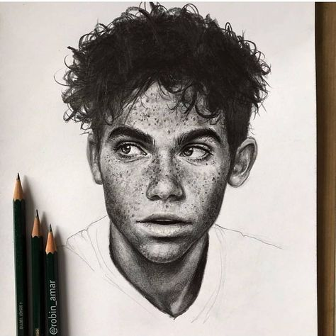 R.I.P Cameron Boyce by @robin_amar Shared by @adilson_sketch Use our hashtag for possible feature