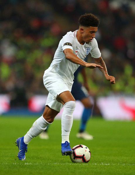 Jadon Sancho Photos Photos England Vs United States International Friendly In 2020 Football Poses Sancho England