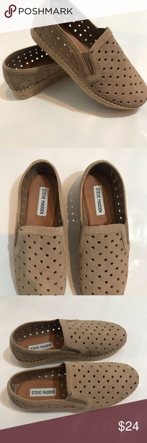 d975612af60 Steve MADD Widmer Espadrille Sneaker Slip On 7 Steve Madden    Perforated  Slip On Sneaker