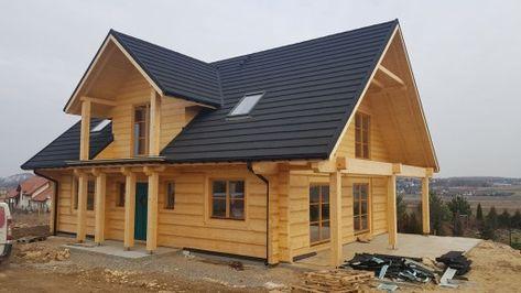Dom domy z bali domy drewniane 8665015022 - Allegro.pl