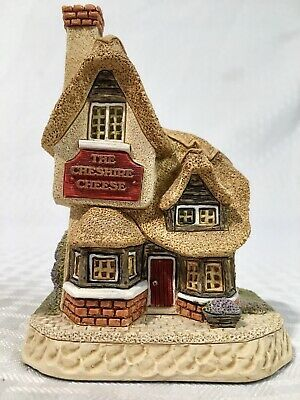 Rare David Winter Cottages Cheshire Cheese Dinner Party Collection Signed 2001 Ebay Scottish Cottages Hand Painted Miniature Houses