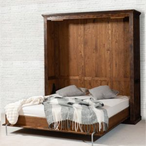 Schrankbett 140x200 Cm Klassisch Lattenrost Ablage Licht Optional Schrankbett Bett Holzbetten