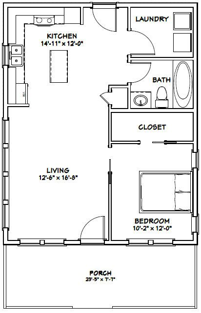 Pdf House Plans Garage Plans Shed Plans 1 Bedroom House Plans Tiny House Plans Tiny House Floor Plans
