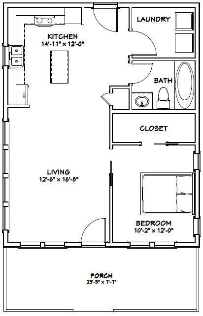 1 Bedroom House Plans 1 Bedroom House Plans Top One Bedroom