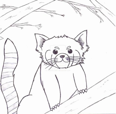 Exclusive Picture Of Red Panda Coloring Page Puppy Coloring