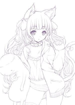 Pin By Minerva Mejia On Anime Anime Lineart Anime Cute Coloring Pages