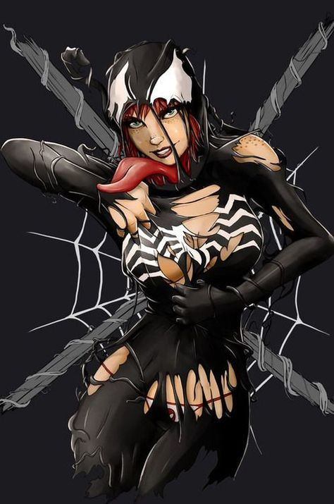 #Venom   Spiderman art, Venom comics, Character sketch