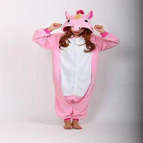Unicorn Tenma Unisex Sleepwear Kigurumi Pajamas Animal Cosplay Costume Onesie15