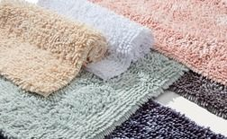 Plush Oversized Bath Rugs From Bed