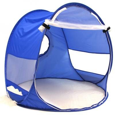 Deluxe 4 In 1 Compact Folding Dome Shelter Tent With Sleeping Bag Air Mattress Pillow Baby Shade Beach Baby Baby Pop