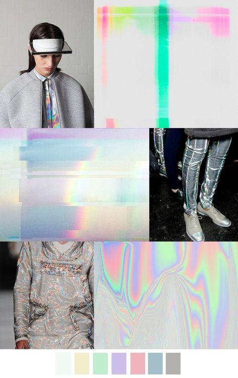 HOLOGRAPHIC MAGIC #FashionTrendsSs17
