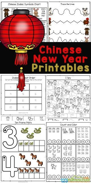 Free Chinese New Year Worksheets In 2021 Chinese New Year Kids Chinese New Year Activities Chinese New Year Chinese new year worksheets free