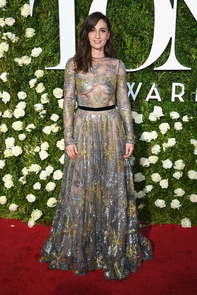 Sara Bareilles attends the 2017 Tony Awards at Radio City Music Hall.