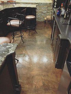 Metallic Brown Epoxy Flooring3 Findlay Oh Epoxy Floor Concrete Design Epoxy Floor Coating