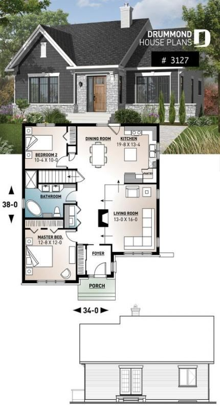 Trendy House Plans Ranch Small Layout 22 Ideas Ranch Style House Plans Sims House Design Basement House Plans
