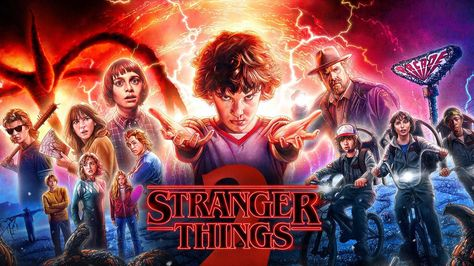 Desktop Wallpaper Stranger Things, Season 2, 2017, Tv Series, Latest Poster, Hd Image, Picture, Background, 410477
