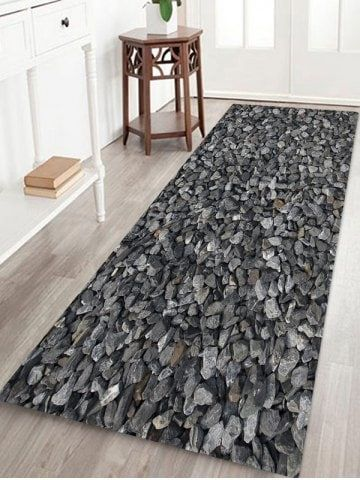3d Gravel Printed Design Floor Mat Floor Rugs Floor Patterns Rugs