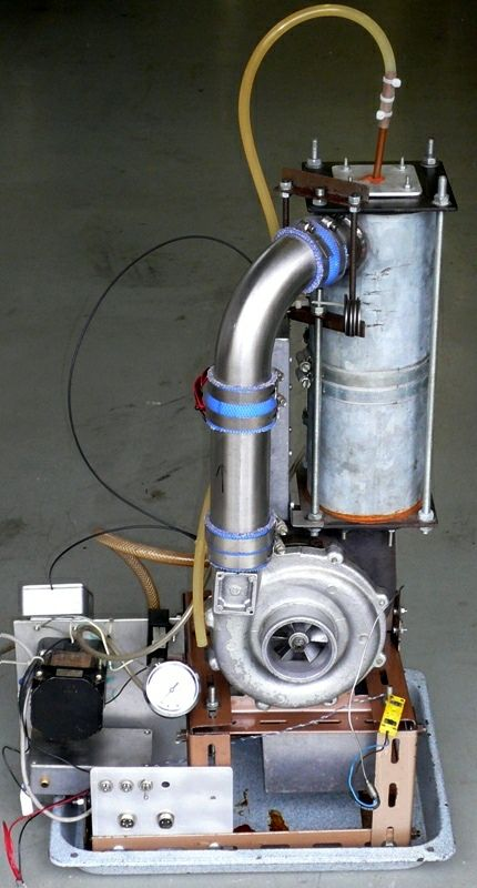 DIY Micro Gas Turbine Engine Front View | Engine | Jet engine, Gas