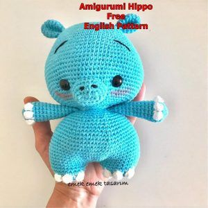 hippopotamus Snood child and soft stretchy baby bear rhinoceros pattern