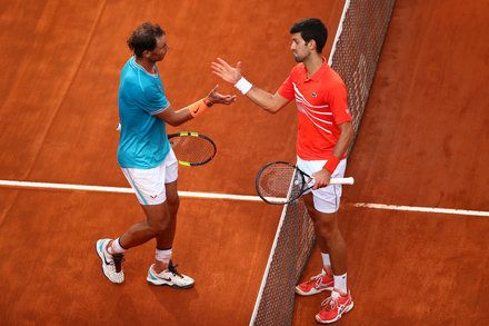 For Rafael Nadal And Novak Djokovic Rome Offered Something Novel A Bagel Rafael Nadal Novak Djokovic Tennis News