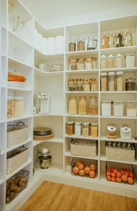 Laundry Room To Walk In Pantry Reveal Kitchen Pantry Design