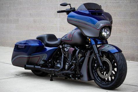 Harley Davidson Street Glide, Harley Davidson Motorcycles, Custom Motorcycles, Custom Baggers, Custom Harleys, Custom Choppers, Road Glide Custom, Street Glide Special, Custom Street Bikes