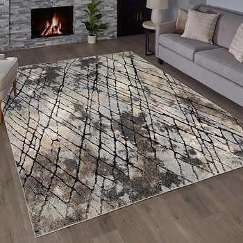 Torino Rug Collection Newman Gray With Images Rugs Easy Care